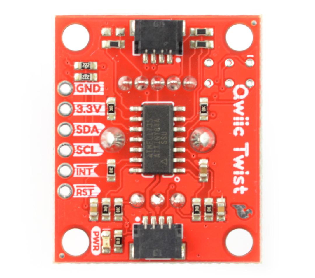 SparkFun Twist - enkoder obrotowy RGB (Qwiic)