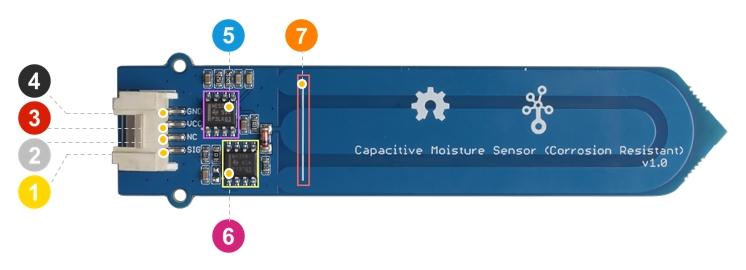 humidity detector circuit diagram project b2b electronic components grove capacitive humidity sensor corrosion electronic humidity detector circuit diagram project b2b electronic components