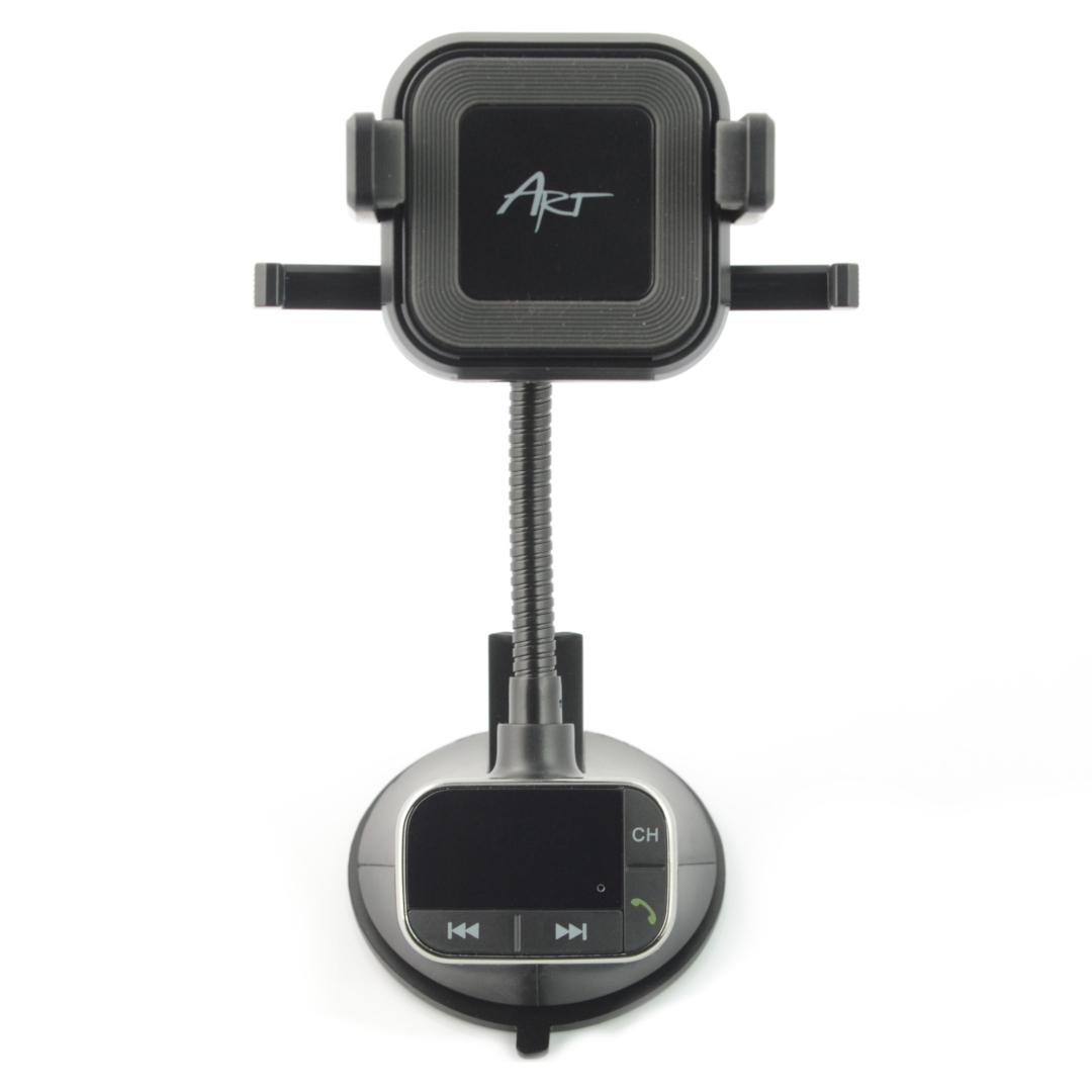 Transmiter samochodowy FM 4w1 - ART FM-09BT