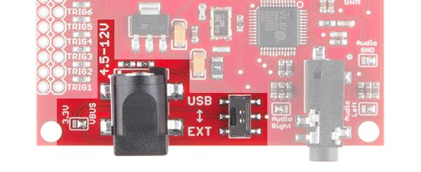 SparkFun MP3 Trigger - odtwarzacz MP3