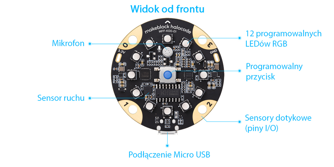 MakeBlock HaloCode WiFi - ESP32-WROVER on