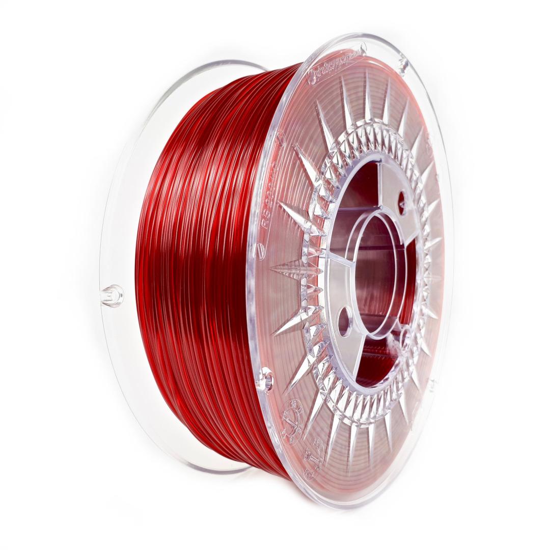 Filament Devil Design PER-G 1,75 mm 1 kg -Ruby Red Transparent