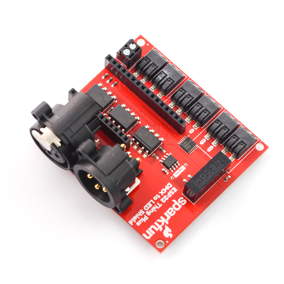 SparkFun ESP32 Thing Plus DMX - driver for LED strips_