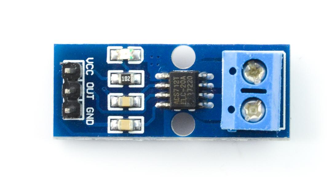Czujnik prądu ACS712 - 20A