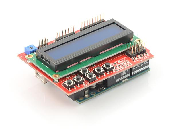 Iduino LCD Keypad Shield