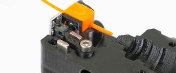 Nowy czujnik filamentu w Prusa i3 MK3S.