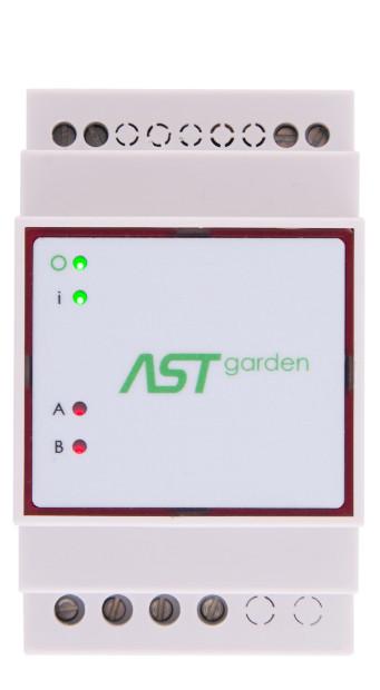 ASTgarden - sterownik oświetlenia ogrodu na szynę DIN IP65