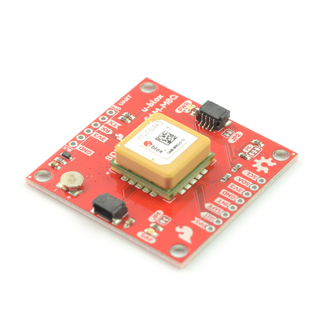 SparkFun GPS SAM-M8Q module - Qwiic - antenna PCB*