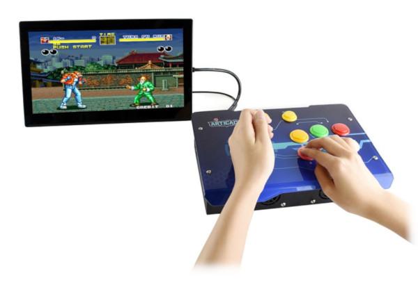 Przykład podłączenia Arcade-C-1P z ekranem