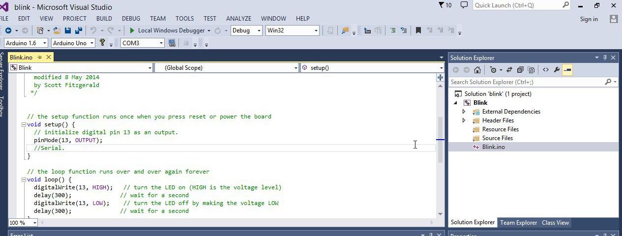 Visual Micro - Arduino programming environment - Botland