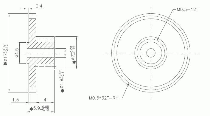 Nema L6 30r Dimensions