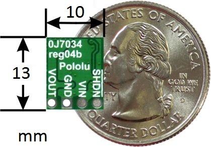 Miniaturowa przetwornica step-up D24VxFx