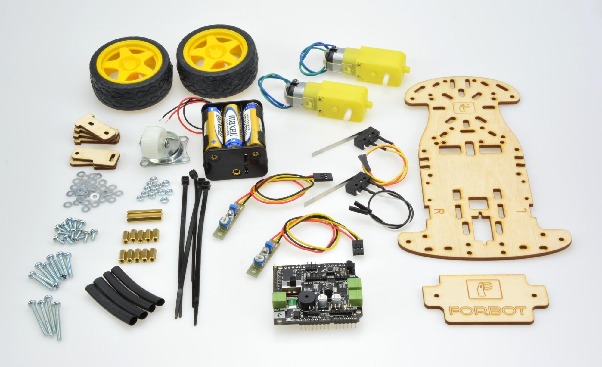 Zestaw do nauki robotyki i Arduino FORBOT