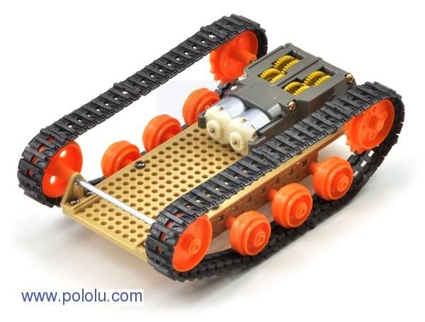 Projekt robota czołgu w oparciu o elementy Tamiya.
