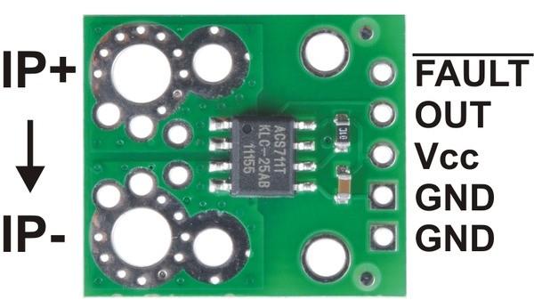 Opis modułu czujnika prądu ACS711